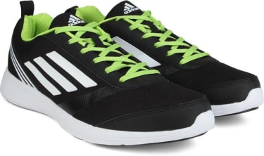 ADIDAS ADIRAY M Men Running Shoes For Men(Black, Green, White) image 1