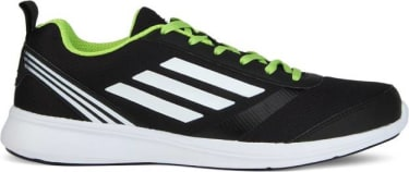 ADIDAS ADIRAY M Men Running Shoes For Men(Black, Green, White) image 2