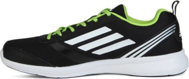 ADIDAS ADIRAY M Men Running Shoes For Men(Black, Green, White) image 4