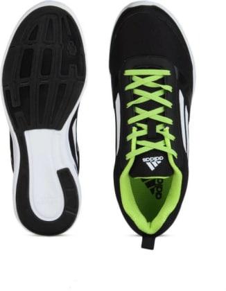 ADIDAS ADIRAY M Men Running Shoes For Men(Black, Green, White) image 5