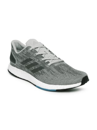 Adidas Men Grey Running Shoes image 1