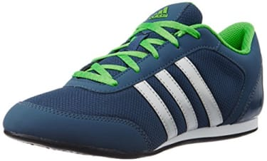 ADIDAS Womens Vitoria Ii Blue, Silver and Green Sport Shoes- 4 UK image 1