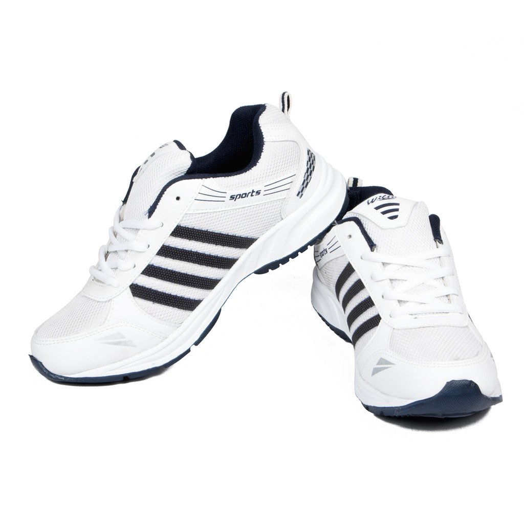ASIAN White Running Shoes image 1