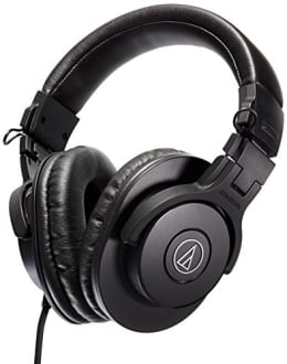 AudioTechnica ATH-M30X Professional Monitor Headphone  image 1