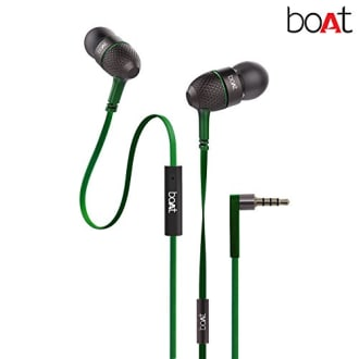Boat Bass Heads 225 In-Ear Headphones with Mic  image 1