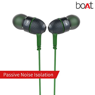 Boat Bass Heads 225 In-Ear Headphones with Mic  image 4