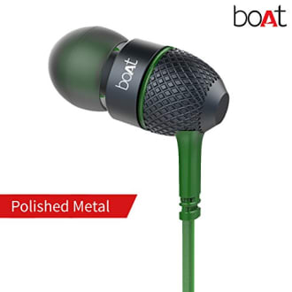 Boat Bass Heads 225 In-Ear Headphones with Mic  image 5