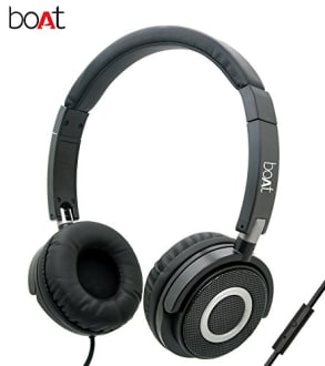 Boat BassHeads 900 Wired Headphones with Mic  image 1
