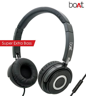 Boat BassHeads 900 Wired Headphones with Mic  image 2