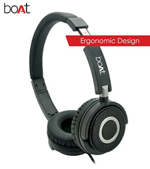 Boat BassHeads 900 Wired Headphones with Mic  image 4