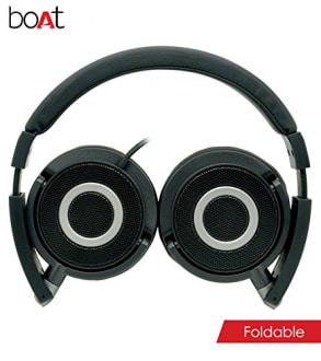 Boat BassHeads 900 Wired Headphones with Mic  image 5