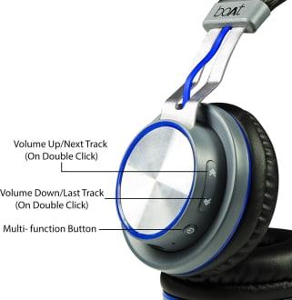 Boat Rockerz 390 Bluetooth Headphones  image 4