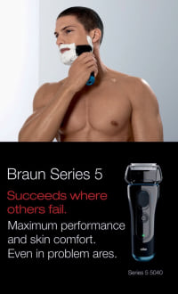 Braun 5040S Wet and Dry Shaver  image 3