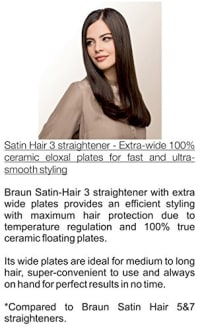 Braun Satin 310 Hair Straightener  image 3