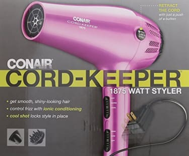 Conair 209NX Ion Shine 1875-Watt Hair Dryer  image 4