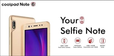 Coolpad Note 6  image 2