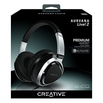 Creative Aurvana Live!2 Over the Ear Headphone  image 3
