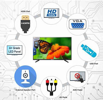 Dektron DK2477HDR 24 Inch HD Ready LED TV  image 2
