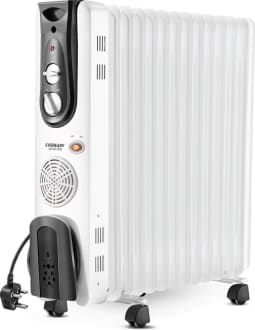 Eveready OFR11FB 2900W Oil Filled Radiator Room Heater image 2