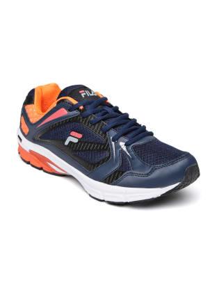 FILA Men Navy Blue ALTO RUNNER Running Shoes image 1