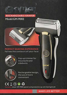Gemei GM-9002 Rechargeable Shaver  image 5