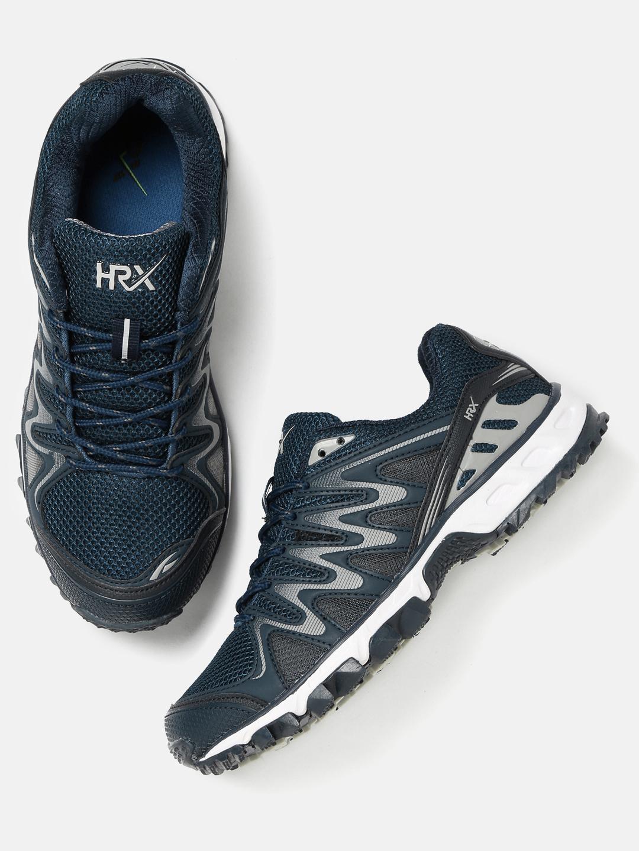 HRX by Hrithik Roshan Men Navy Training Shoes image 1