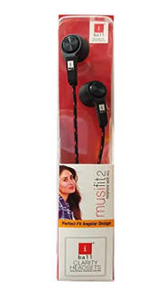IBall MusiFit2 earphones With Mic IN-EAR Headset  image 1