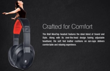 IBall Musi Tap V2.0 Headset with Mic  image 4