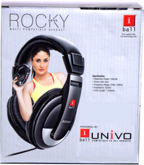 IBall Rocky Univo Over-the-head Headphones  image 2
