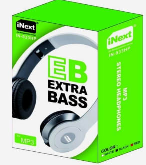 Inext IN-933HP On the Ear Headphones  image 3