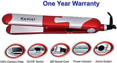 Kemei KM-1289 Hair Straightener  image 3