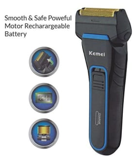 Kemei Km-2016 Rechargeable Shaver  image 2