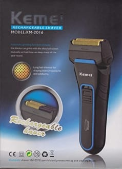 Kemei Km-2016 Rechargeable Shaver  image 3