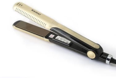 Kemei KM-327 Hair Straightener  image 1