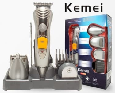 Kemei KM-580A 7 in 1 Rechargeable Grooming Kit Trimmer  image 1