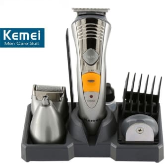 Kemei KM-580A 7 in 1 Rechargeable Grooming Kit Trimmer  image 2