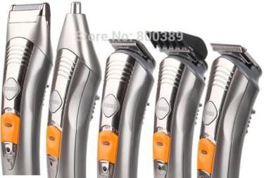 Kemei KM-580A 7 in 1 Rechargeable Grooming Kit Trimmer  image 3