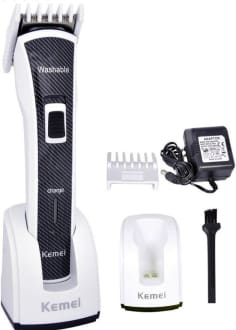 Kemei KM-6166 Washable Professional Series Trimmer  image 1