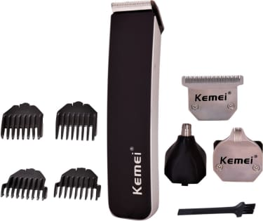 Kemei KM 3580 Trimmer With Grooming Kit  image 1