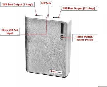 Lappymaster PB-061 10400mAh Power Bank  image 3