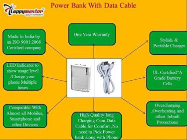 Lappymaster PB-061 10400mAh Power Bank  image 5