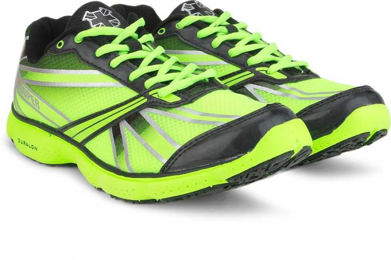 Lee Cooper Men Running Shoes For Men(Black, Green) image 1
