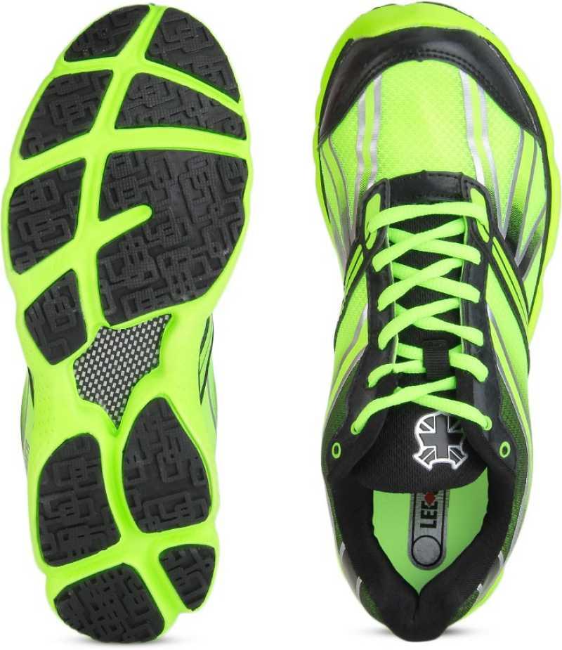 Lee Cooper Men Running Shoes For Men(Black, Green) image 4