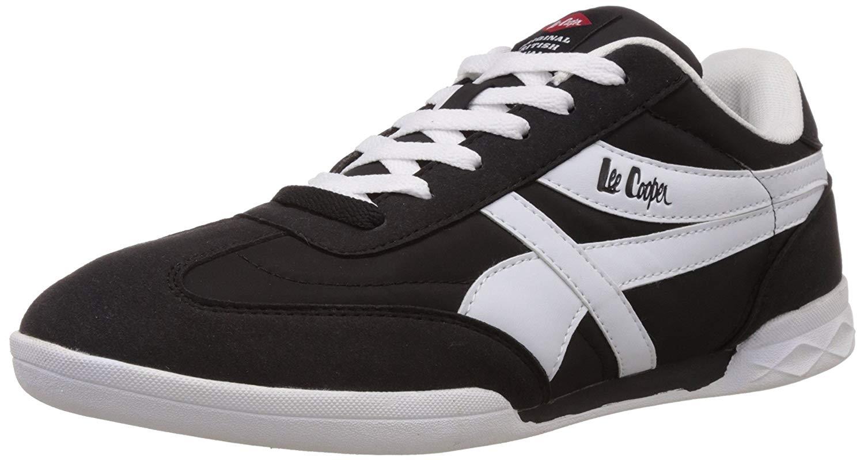 Lee Cooper Mens Black Running Shoes - 7 UK image 1