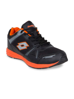 Lotto Men Black Running Shoes image 1