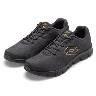 Lotto Mens Vertigo Grey Running Shoes - 6 UK/India (40 EU) image 1