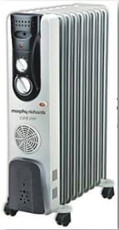 Morphy Richards OFR11 11 Fin 2500W Oil Filled Radiator Room Heater image 1
