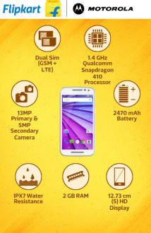 Motorola Moto G (3rd Gen)  image 2
