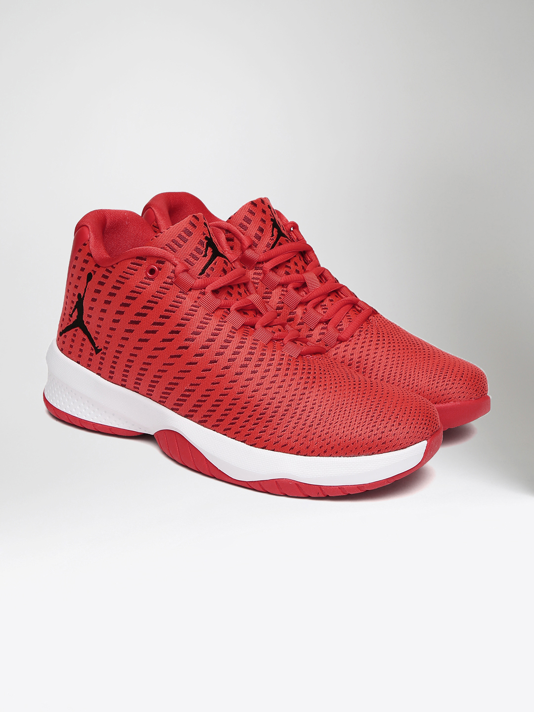 NIKE Men Red Jordan B. Fly Basketball Shoes image 1