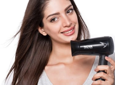 Nova NHP 8100 Silky Shine 1200 W Hot And Cold Foldable NHP 8100 Hair Dryer  image 4